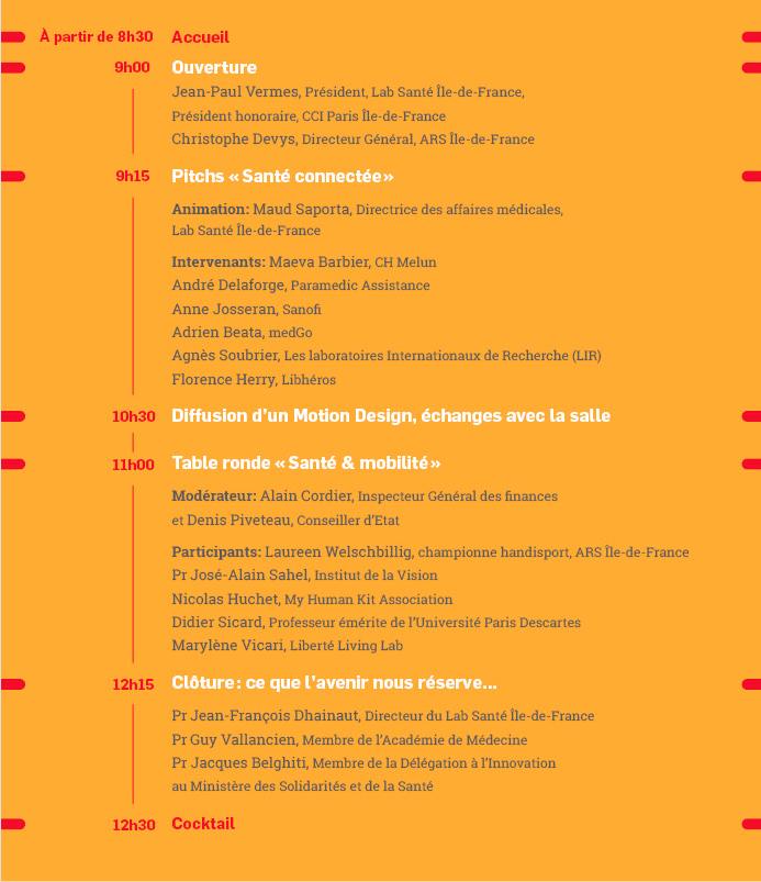 Rencontre Sant Connect E Sant Et Mobilit Paris