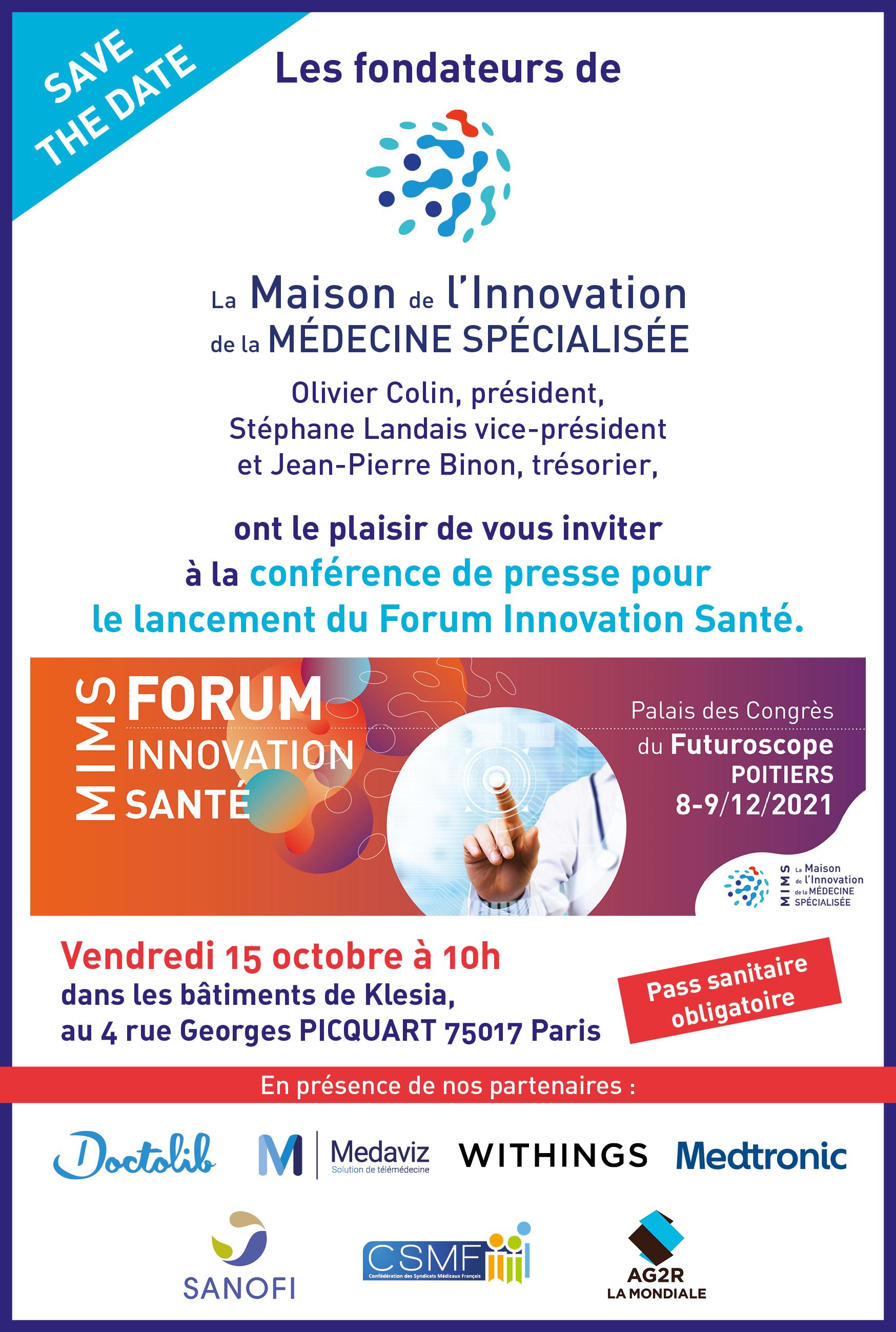 MIMS forum innovation santé